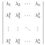 【微分方程式】定数係数のn階同次線形/一般解の導出