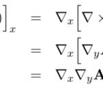 【ベクトル解析】div(rot(A))=0の証明(ベクトル解析)
