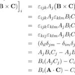 【外積】ベクトルの外積とレヴィ=チヴィタの記号(Levi-Civita)