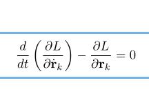 ラグランジュ の 運動 方程式 ラグランジュ運動方程式の導出