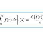 【ラプラス変換】積分のラプラス変換/それを利用したラプラス逆変換