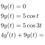 【例題で学ぶ】ラプラス逆変換(非斉次線形微分方程式)
