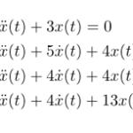 【例題で学ぶ】ラプラス逆変換(線形微分方程式の初期値問題)