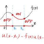 【例題で学ぶ】ラプラス逆変換:階段関数の性質と逆変換(t移動)