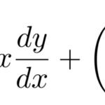 【微分方程式】ダランベール型(ラグランジュ型)の解法