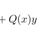 【微分方程式】例題で学ぶ:リカッチ(リカティ)型の解法