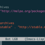 【emacs25】magitの導入・インストール